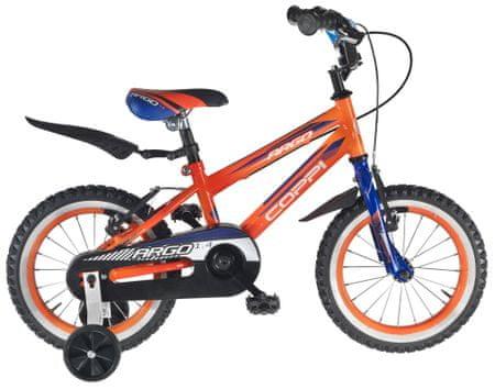 """Coppi Argo 14"""" fiú narancssárga"""