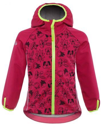 good2go dievčenská softshellová bunda GOOD2GO 80 ružová