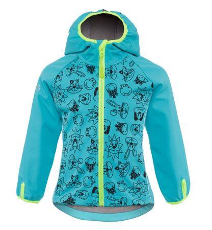 good2go chlapčenská softshellová bunda GOOD2GO 92 modrá