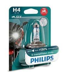 Philips žarulja H4 X-tremeVision Moto 12V 60/55W +130%