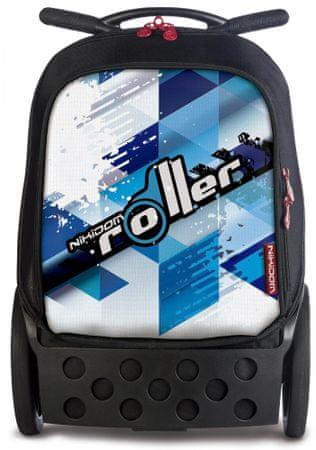 Nikidom Roller XL Cool Blue šolska torba na kolesih - Odprta embalaža