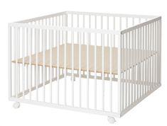 BabyDan Drevená ohrádka Comfort Large