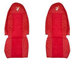 F-CORE Poťahy na sedadlá FX01, červené