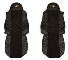 F-CORE Poťahy na sedadlá FX04, čierne