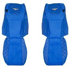 F-CORE Poťahy na sedadlá FX07, modré