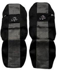 F-CORE Poťahy na sedadlá PS23, sivá