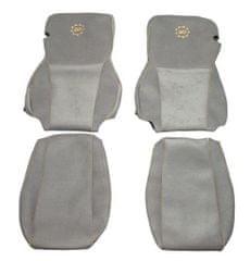 F-CORE Poťahy na sedadlá CS02 GD, sivé