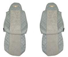 F-CORE Poťahy na sedadlá FX04, sivé