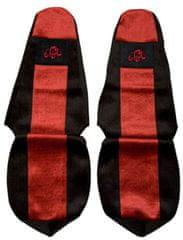 F-CORE Poťahy na sedadlá PS16, červené
