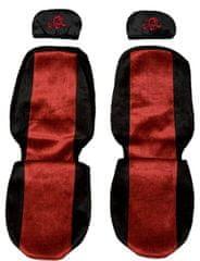 F-CORE Poťahy na sedadlá PS09, červené