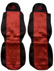 F-CORE Poťahy na sedadlá PS04, červené