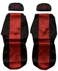 F-CORE Poťahy na sedadlá PS19, červené