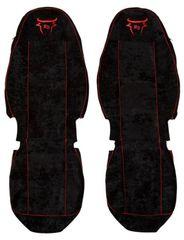 F-CORE Poťahy na sedadlá CS06 RD, čierne