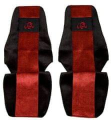 F-CORE Poťahy na sedadlá PS20, červené