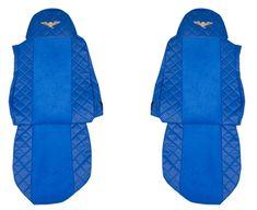 F-CORE Poťahy na sedadlá FX04, modré