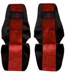F-CORE Poťahy na sedadlá PS21, červené