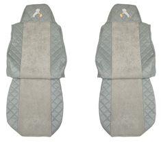 F-CORE Poťahy na sedadlá FX05, sivé