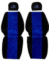 F-CORE Poťahy na sedadlá PS22, modré