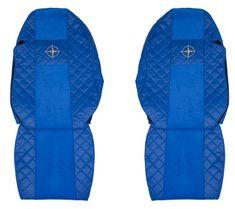 F-CORE Poťahy na sedadlá FX12, modré
