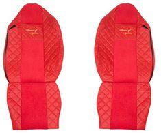 F-CORE Poťahy na sedadlá FX11, červené