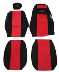 F-CORE Poťahy na sedadlá PS15, červené