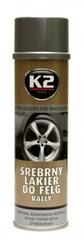 K2 srebrna boja za naplatke Pro 500 ml