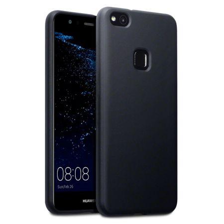 Silikonski ovitek za Huawei Honor 9 Lite, mat črn