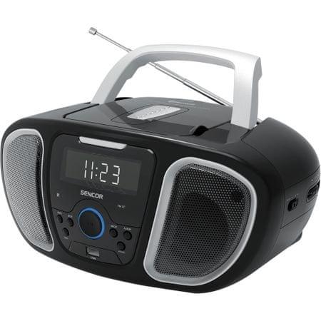 SENCOR SPT 3800 rádiómagnó fekete/ezüst