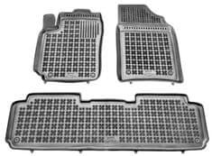 REZAW-PLAST Gumové koberce, súprava 3 ks (2x predné, 1x spojený zadný), Citroen Xsara Picasso 2000-2010