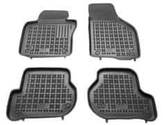 REZAW-PLAST Gumové koberce, súprava 4 ks (2x predné, 2x zadné), pre vozidlá typu Škoda Octavia, VW, Seat