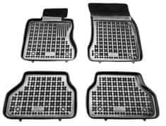 REZAW-PLAST Gumové koberce, súprava 4 ks (2x predné, 2x zadné), BMW 5 (E60) 2002-2009 a BMW 5 (E61) 2003-2014