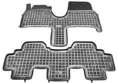 REZAW-PLAST Gumové koberce, súprava 2 ks (1× spojený predné, 1× spojený zadny), pre vozidlá Citroen, Peugeot, Fiat, Lancia