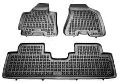 REZAW-PLAST Gumové koberce, súprava 3 ks (2x predné, 1x spojený zadný), Hyundai Tucson 2004-2010