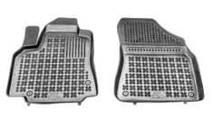 REZAW-PLAST Gumové koberce, súprava 2 ks (2x predné), Citroen Berlingo, Peugeot Partner od r. 2008