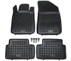 REZAW-PLAST Gumové koberce, súprava 4 ks (2x predné, 2x zadné), Peugeot 508 od r. 2011, Peugeot 508 RHX (hybrid) od r. 2012