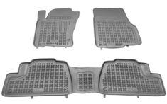 REZAW-PLAST Gumové koberce, súprava 3 ks (2x predné, 1x spojený zadný), Mercedes W163 1998-2005
