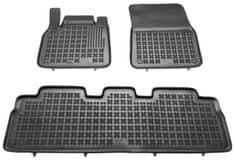 REZAW-PLAST Gumové koberce, súprava 3 ks (2x predné, 1x spojený zadný), Renault Espace IV 2002-2014