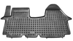 REZAW-PLAST Gumové koberce, 1 ks (1x spojený predný), Nissan Primastar I, Opel Vivaro I, Renault Trafic II