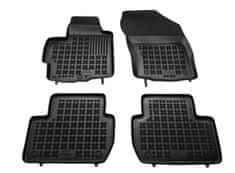 REZAW-PLAST Gumové koberce, súprava 4 ks (2x predné, 2x zadné), Mitsubishi Outlander II, Peugeot 4007, Citroen C-Crosser