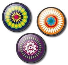 Nikidom Sada odznakov Roller Pins Mandala
