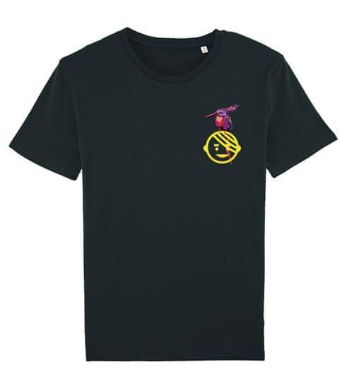 KlokArt pánské černé tričko Stanley Leads M