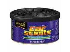 California Scents Vůně do auta Car Scents - Verri Berry (borůvka), ovocná vůně, výdrž 2 měsíce