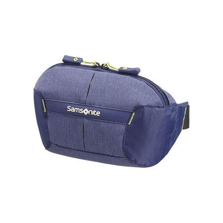 Samsonite pasna torbica Rewind Dark Blue, temno modra