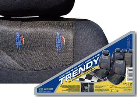 Trendy avto prevleka, color siva