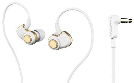 SoundMAGIC PL30+ In-Ear Fülhallgató, Fehér-Arany