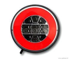 Golm LED luč za prikolico, 12/24V, okrogla