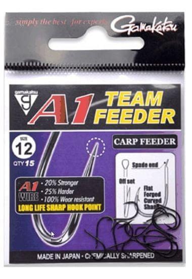 Gamakatsu Háčky A1 Team Feeder Carp Feeder 6