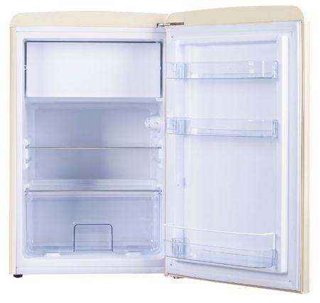 Amica prostostoječi retro hladilnik KS15615B