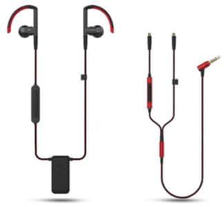 Sluchátka SoundMAGIC ST80 bluetooth 3,5mm jack audiokabel ovládání hlasitosti mikrofon hands-free