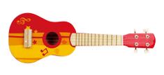 Hape otroška kitara, mala rdeča